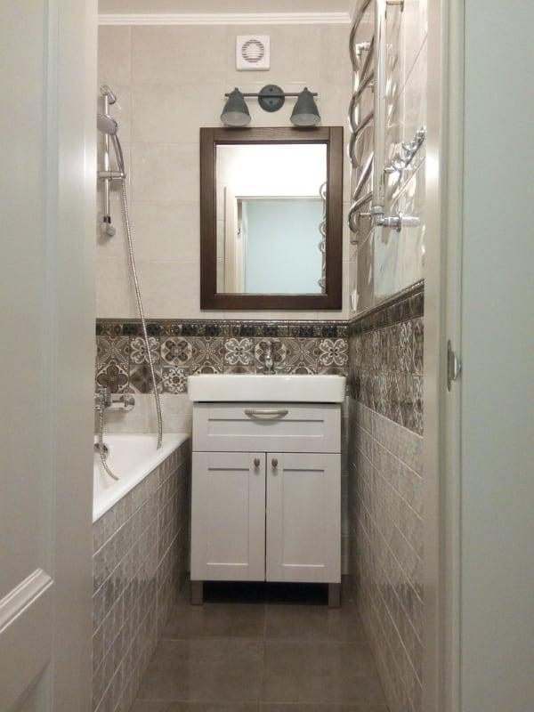 Ремонт ванной в Химках под ключ